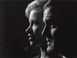 Connie Booth; John Cleese, by Lewis Morley - NPG x38935