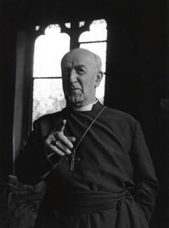 Geoffrey Francis Fisher, Baron Fisher of Lambeth, by Lewis Morley - NPG x38906