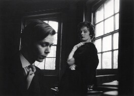 Terry Stanley Hamaton and an unknown woman, by Lewis Morley - NPG x38904