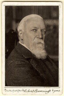 Robert Browning, by William Henry Grove - NPG x4819