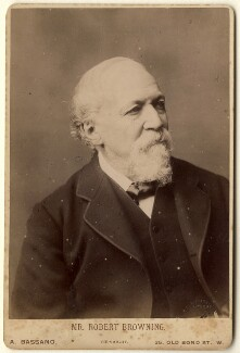 Robert Browning, by Alexander Bassano - NPG x76510