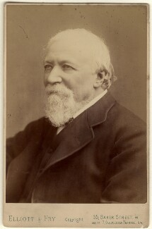 Robert Browning, by Elliott & Fry, 1880-1884 - NPG x4818 - © National Portrait Gallery, London