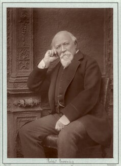 Robert Browning, by Herbert Rose Barraud, published by  Richard Bentley & Son - NPG x5176