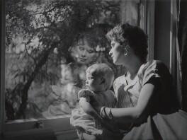Camilla Shivarg; Joan Wyndham, by Lewis Morley - NPG x38903