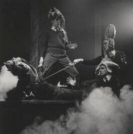 Beyond the Fringe (Jonathan Miller; Peter Cook; Dudley Moore; Alan Bennett), by Lewis Morley - NPG x38939
