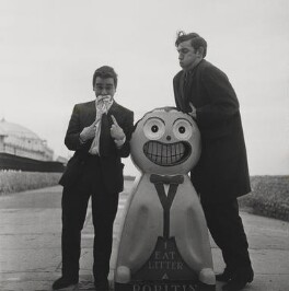 Beyond the Fringe (Peter Edward Cook; Dudley Moore), by Lewis Morley, 1961 - NPG x38937 - © Lewis Morley Archive