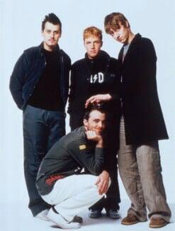 'Travis' (Neil Primrose; Fran Healy; Andy Dunlop; Dougie Payne), by Jason Bell - NPG x125142