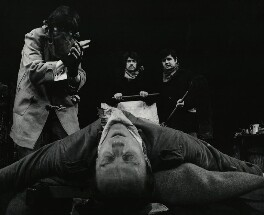 Little Malcolm and His Struggle Against the Eunuchs (Rodney Bewes; Tim Preece; Sir John Hurt; Kenneth Colley), by Lewis Morley, 1966 - NPG x38950 - © Lewis Morley Archive / National Portrait Gallery, London