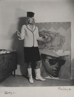 Pauline Boty, by Lewis Morley - NPG x76756