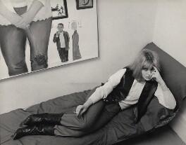 Pauline Boty, by Lewis Morley - NPG x45227