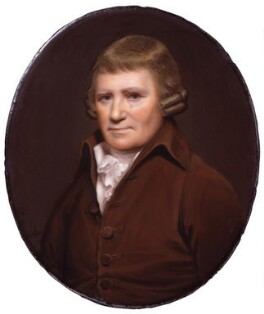 Samuel Whitbread the Elder, by Henry Bone, after  Sir William Beechey - NPG 6603