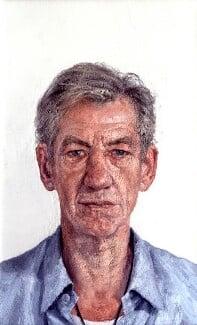 Ian McKellen, by Clive Smith, 2001-2002 - NPG  - © National Portrait Gallery, London