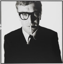 Michael Caine, by David Bailey, May 1965 - NPG  - © David Bailey