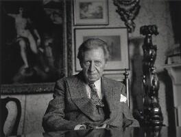 Sir Osbert Sitwell, by Lewis Morley - NPG x46598