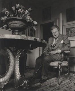 Sir Osbert Sitwell, by Lewis Morley - NPG x47400