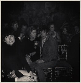 Catherine Deneuve; David Bailey and six unknown sitters, by Lewis Morley - NPG x47120