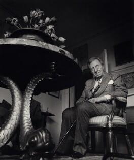 Sir Osbert Sitwell, by Lewis Morley - NPG x47399