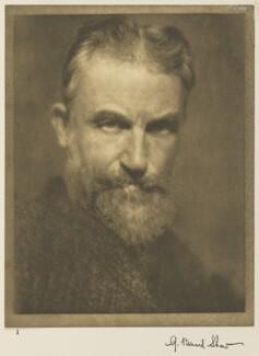 George Bernard Shaw, by Alvin Langdon Coburn - NPG Ax7768