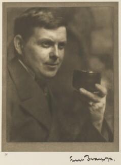 Sir Frank Brangwyn, by Alvin Langdon Coburn - NPG Ax7771