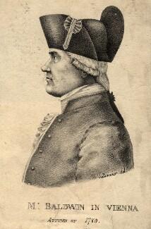 George Baldwin, by Joseph Bouvier - NPG D11274