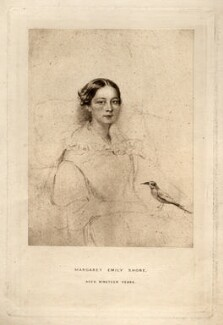 Margaret Emily Shore, after Unknown artist - NPG D11267