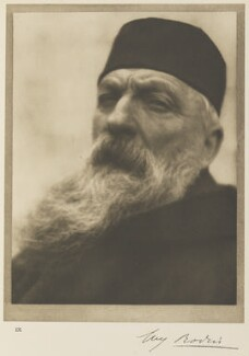 Auguste Rodin, by Alvin Langdon Coburn, 21 April 1906 - NPG Ax7776 - © The Universal Order