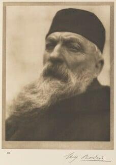 Auguste Rodin, by Alvin Langdon Coburn - NPG Ax7776