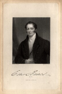 Edward Baines, by John Cochran, probably after  Thomas Hargreaves - NPG D11275