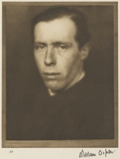 William Orpen, by Alvin Langdon Coburn - NPG Ax7782
