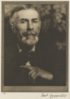 Edward Carpenter, by Alvin Langdon Coburn - NPG Ax7774