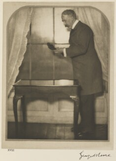 George Moore, by Alvin Langdon Coburn - NPG Ax7785