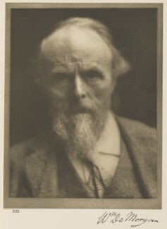 William De Morgan, by Alvin Langdon Coburn - NPG Ax7788