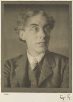 Roger Fry, by Alvin Langdon Coburn, 27 February 1913 - NPG Ax7798 - © The Universal Order