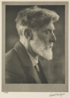 Robert Bridges, by Alvin Langdon Coburn - NPG Ax7799