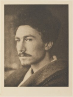 Ezra Pound, by Alvin Langdon Coburn, published by  Duckworth & Co, 22 October 1913 - NPG Ax7811 - © The Universal Order