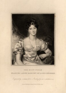 Frances Anne Vane, Marchioness of Londonderry, by John Cochran, published by  Edward Bull, after  Sir Thomas Lawrence - NPG D11283