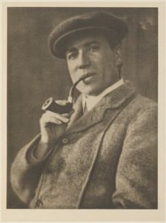 William Henry Davies, by Alvin Langdon Coburn, published by  Duckworth & Co - NPG Ax7812