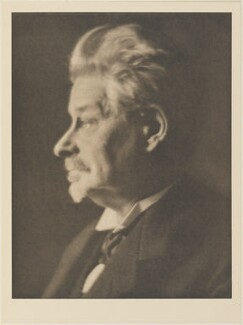 George Brandes, by Alvin Langdon Coburn, published by  Duckworth & Co - NPG Ax7813