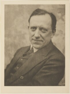 James Louis Garvin, by Alvin Langdon Coburn, published by  Duckworth & Co - NPG Ax7814