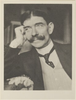 Frank Harris, by Alvin Langdon Coburn, published by  Duckworth & Co - NPG Ax7815