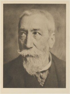 Anatole France (Jacques Anatole François Thibault), by Alvin Langdon Coburn, published by  Duckworth & Co - NPG Ax7816
