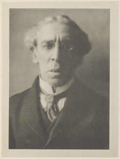 Israel Zangwill, by Alvin Langdon Coburn, published by  Duckworth & Co - NPG Ax7818