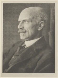 Maurice Henry Hewlett, by Alvin Langdon Coburn, published by  Duckworth & Co - NPG Ax7822