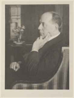 Sir Owen Seaman, 1st Bt, by Alvin Langdon Coburn, published by  Duckworth & Co - NPG Ax7823