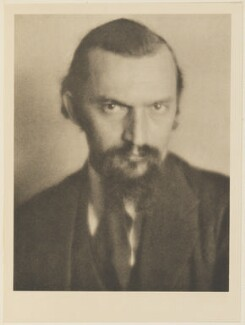 Ivan Mestrovich, by Alvin Langdon Coburn, published by  Duckworth & Co - NPG Ax7828