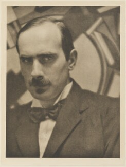 Edward Wadsworth, by Alvin Langdon Coburn, published by  Duckworth & Co - NPG Ax7831