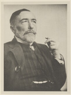Joseph Conrad, by Alvin Langdon Coburn, published by  Duckworth & Co - NPG Ax7832