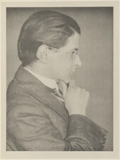 Thomas Burke, by Alvin Langdon Coburn, published by  Duckworth & Co - NPG Ax7834