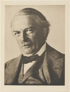 David Lloyd George, by Alvin Langdon Coburn, published by  Duckworth & Co - NPG Ax7835