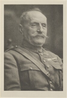 Ferdinand Foch, by Alvin Langdon Coburn, published by  Duckworth & Co - NPG Ax7836